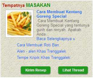 Cara Membuat Menu Label Masakan Di Blog