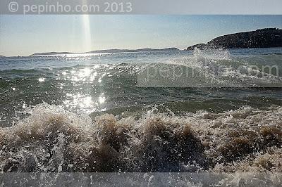 Olas en la Playa de Montalvo