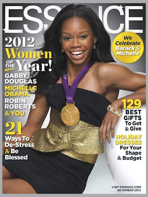 Gabby Douglas on Essence Magazine