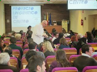 Jornada Inicial PLC (28 de noviembre) CEP de Castilleja de la Cuesta, con la asistencia delos centros delas provincias de Cádiz, Huelva y Sevilla