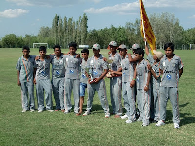 Venezia Cricket Club - Campione d'Italia Under 15 2012