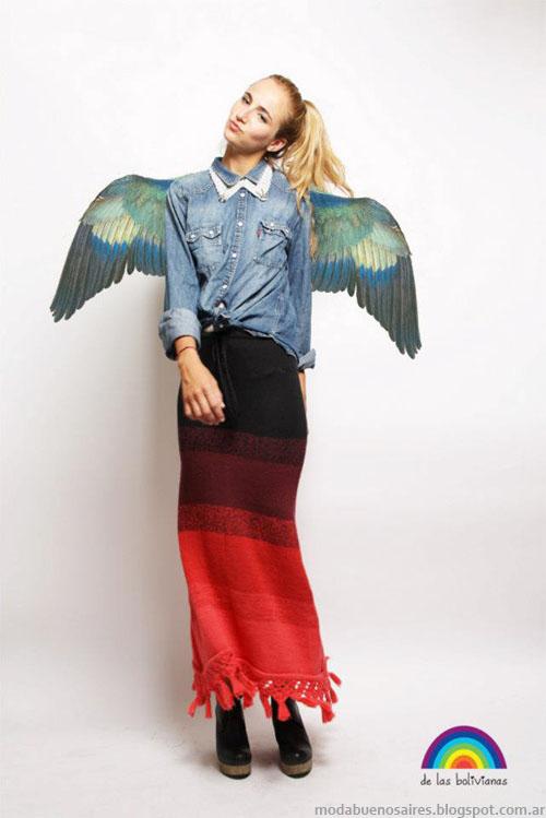 tejidos invierno 2013 moda