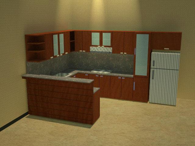 Furniture interior 9 project kitchen washtavel hpl for Kitchen set hpl