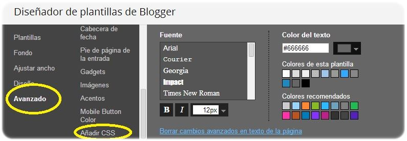 Personalizar el buscador de un blog