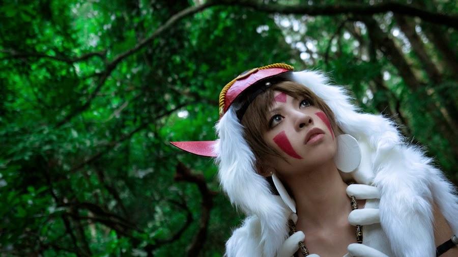Especial Cosplay Princess Mononoke 1/65