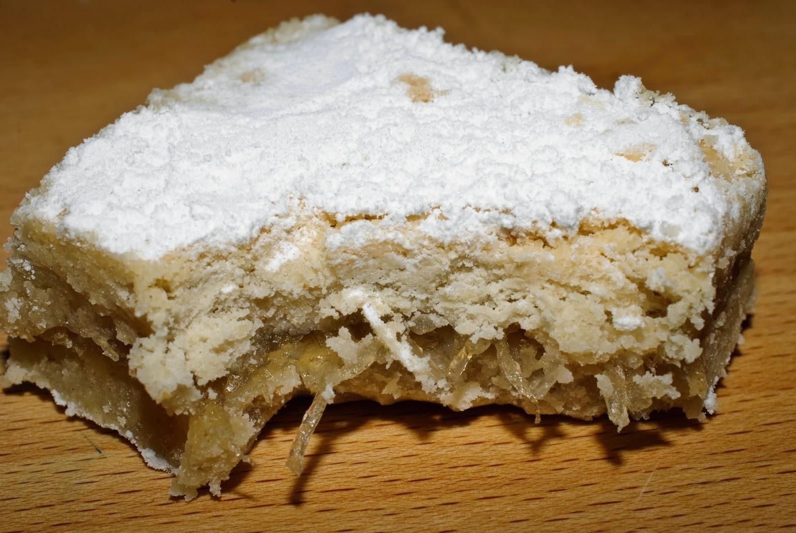 Cortadillos de cidra; spaghetti squash sweets