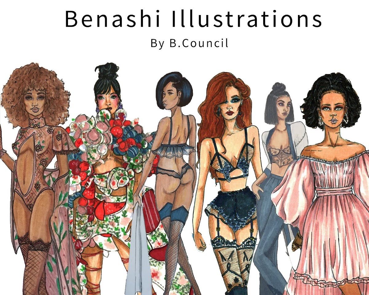 Benashi Illustrations