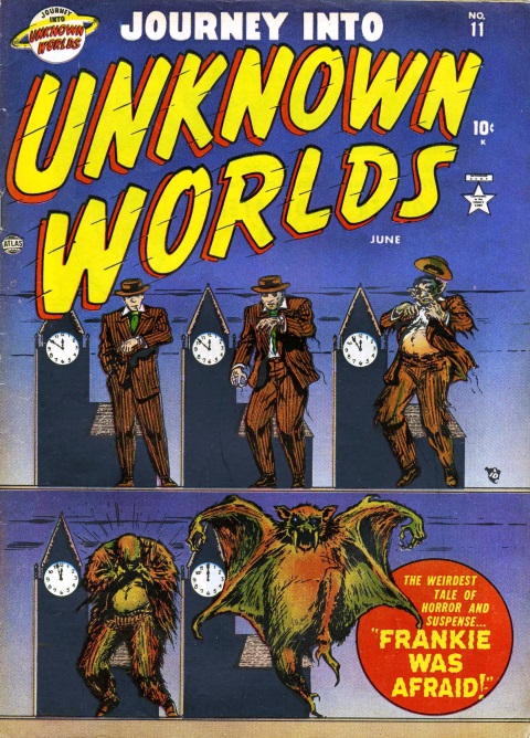 JOURNEY INTO UNKNOWN WORLDS #11