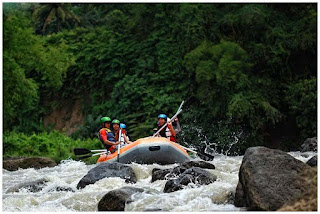 wisata rafting