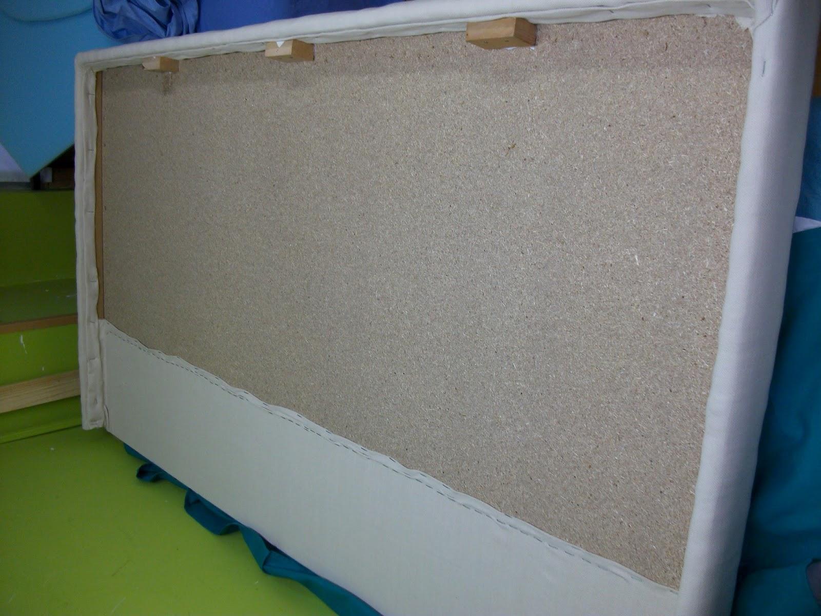 El blog de la restauradora cabecero tapizado con tachuelas - Poner rodapie ...