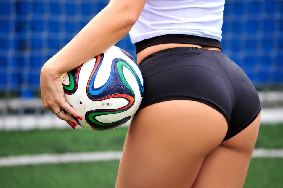 Belas do Mundial 2014 - Fernanda Schonardie Representa a Seleção Alemã de Futebol