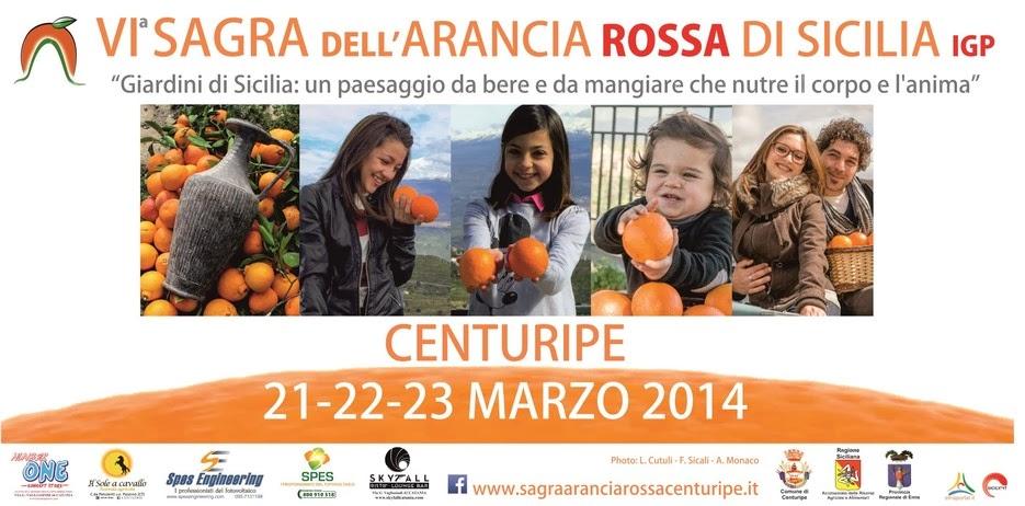 CENTURIPE: VI SAGRA DELL'ARANCIA ROSSA DI SICILIA IGP