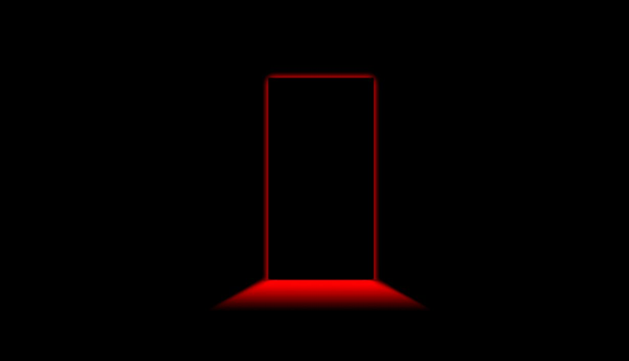 Black Red Door Wallpaper Computer Desktop Back 10020 Wallpaper