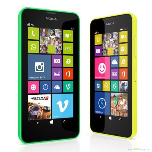 Nuovi smartphone windows phone 8.1 annunciati da Nokia: ecco Lumia 630 e 635