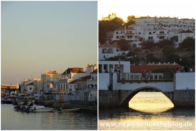 Tavira: Brücke und Hafen
