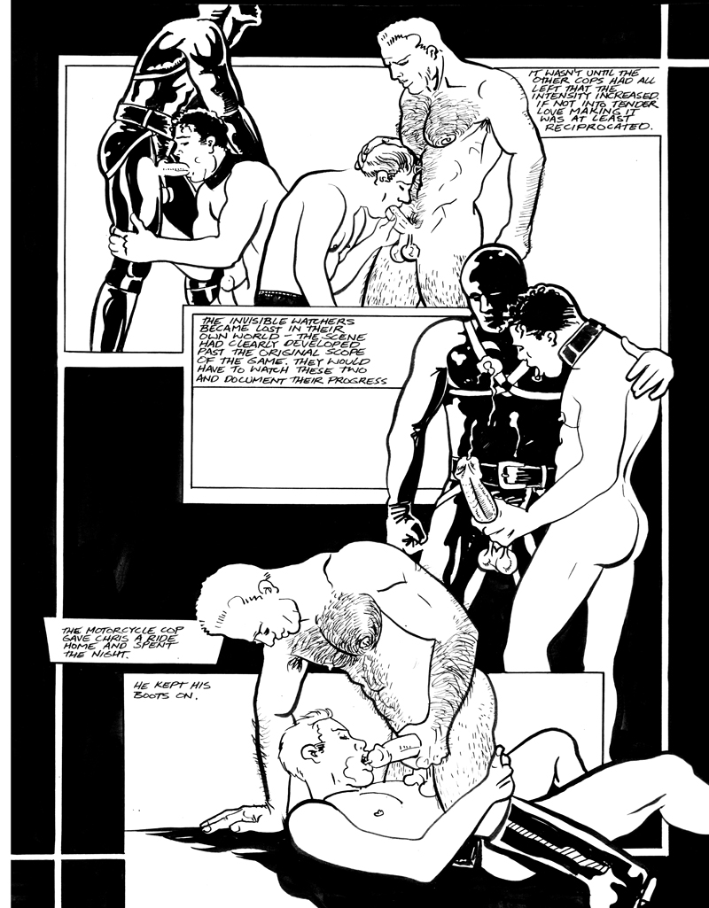 ILM%2B25 from Midnight Sons an erotic comic series I did for International ...