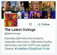 Follow the Outrage