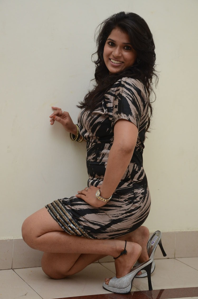 Telugu Actress Bhargavi  Pictures at Romance Telugu Movie Audio Launch  0020