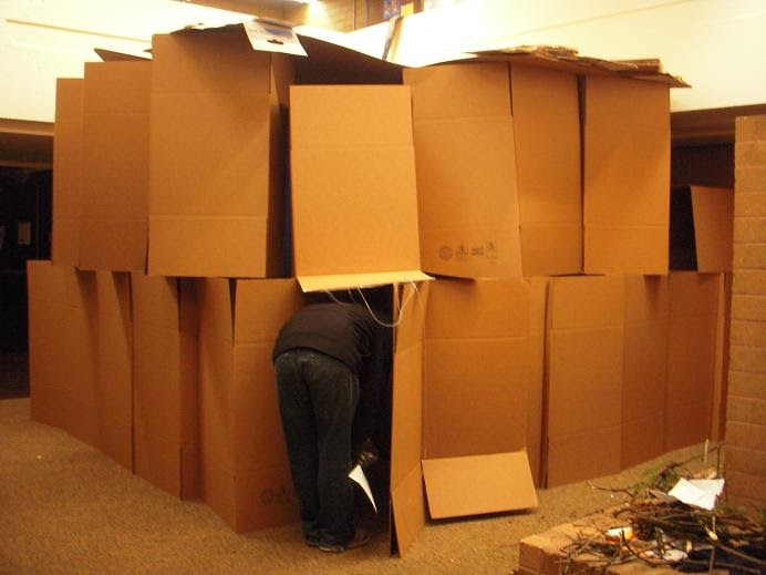Breakmentaldown Excellent Inside The Box Fort Thought