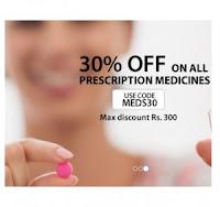 Plussapp : Medicines 30% off (Max. Rs.300) from Delhi & NCR User
