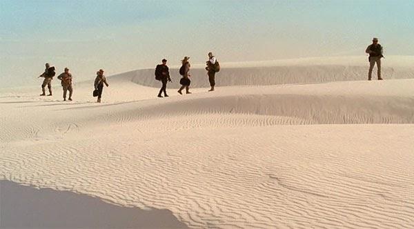 "Stargate Universe's third episode ""Air, Part 3"""