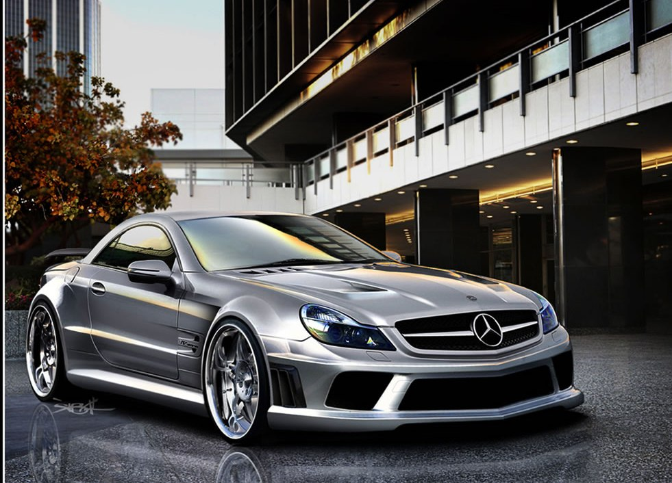 Latest car trends mercedes benz sl65 amg black series for The latest mercedes benz