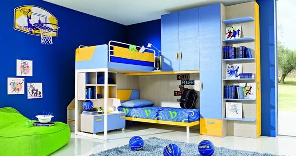 Combinacion de Colores Para Dormitorios de Niños Dormitorio Litera Para Niños
