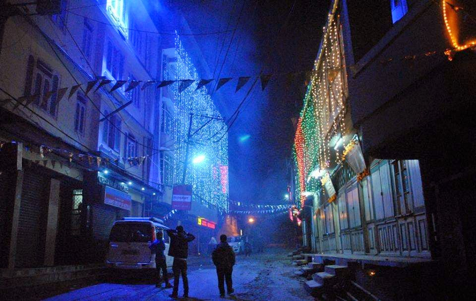 Diwali in Darjeeling