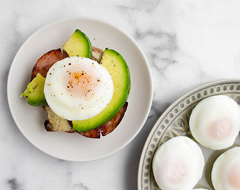 how to cook poached eggs in the oven