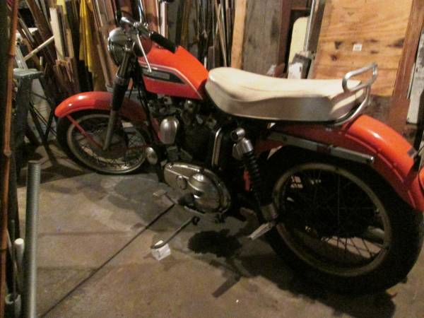 Just A Car Guy: 1969 Harley Davidson Sportster needs a new ...