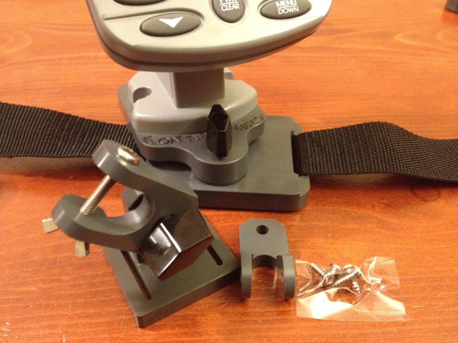 Fish finder and transducer mounting solutions march 2013 for Float tube fish finder