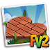 Fv 2 Brick Heart Pavers x5