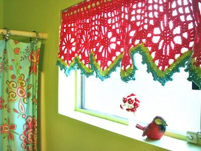 free crochet valance pattern