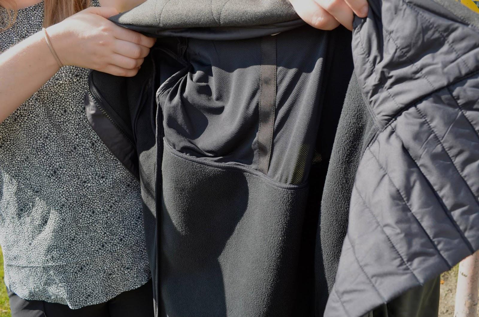 lululemon brisky biker jacket-inside