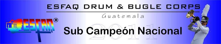 ESFAQ Drum & bugle corps 2012