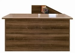 Amber Reception Desk by Cherryman