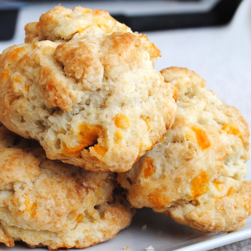 Cheddar Biscuits Recipe — Dishmaps