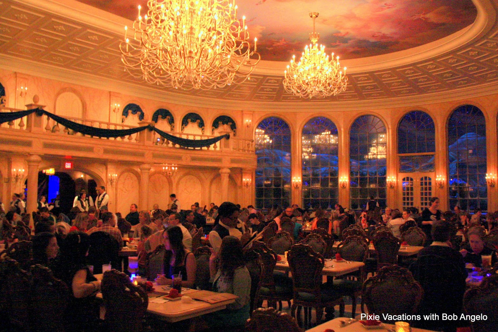 Disney world and florida on pinterest for 3 dining rooms at be our guest