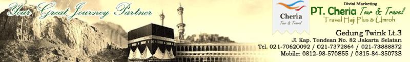 Pendaftaran | Daftar Haji ONH Plus Online Cheria Travel