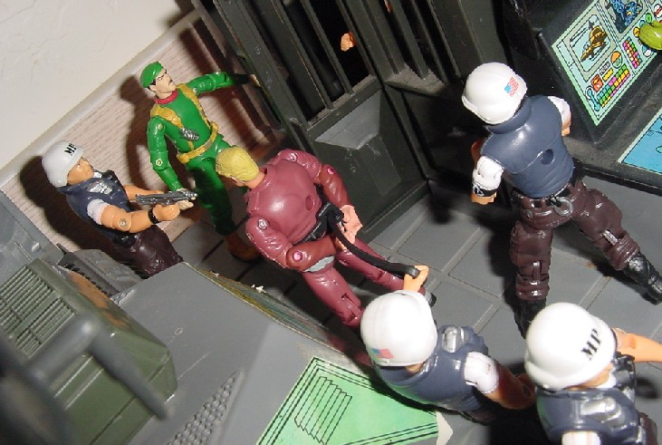 2000 Law and Order, ARAHC, Funskool Law, 1994 Countdown, 1983 G.I. Joe Headquarters, HQ, 2004 Comic Pack Grunt, Unproduced Caucasian Stalker