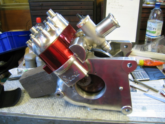 Scott Motorcycle Engine Crankcase