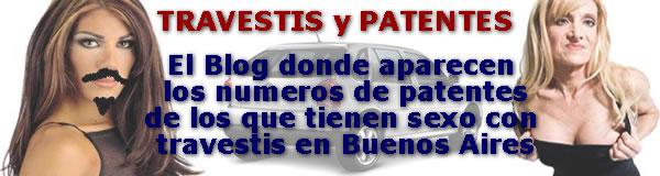Travestis y Patentes de Autos, Buenos Aires