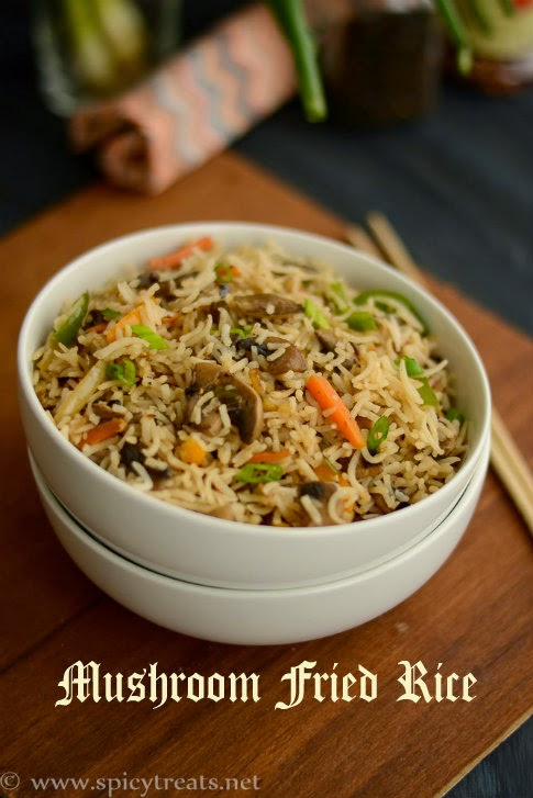 Easy Mushroom Fried Rice