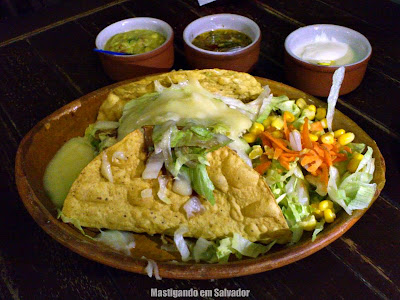 Tijuana Mexican Bar: Tacos de Frango grelhado com Molho Barbecue