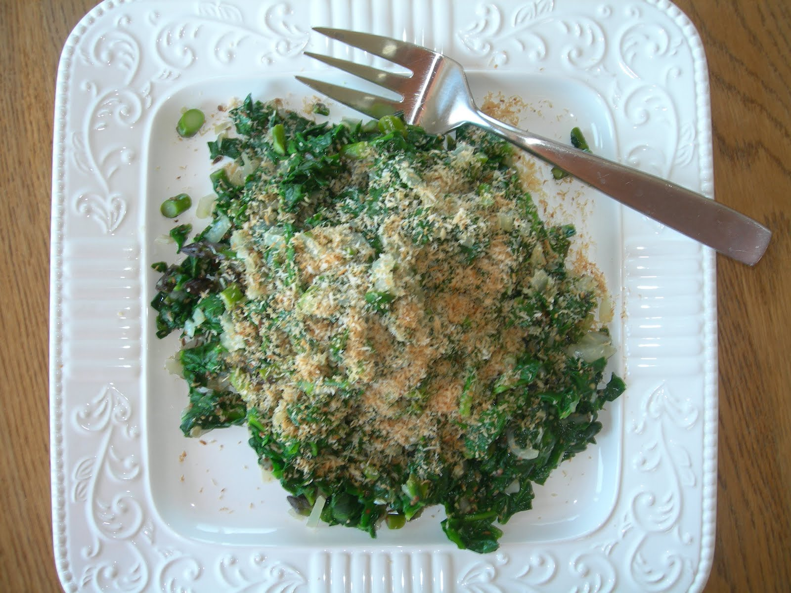 Eating the Scenery: Heidi Swanson's Spiced Coconut Spinach