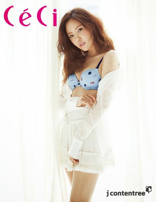 Hyomin - Ceci T-ara Magazine April Issue 2014