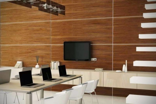wood wall paneling ideas to improve sound absorption element - Elegant Decorative Wood Wall Paneling For Modern Interior - Home