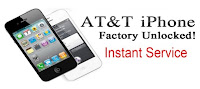 Factory Unlock iPhone at&t