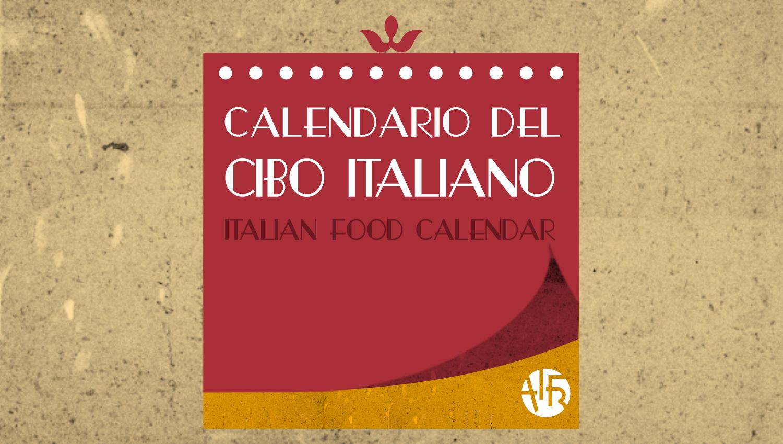 Il Calendario del Cibo Italiano di AIFB