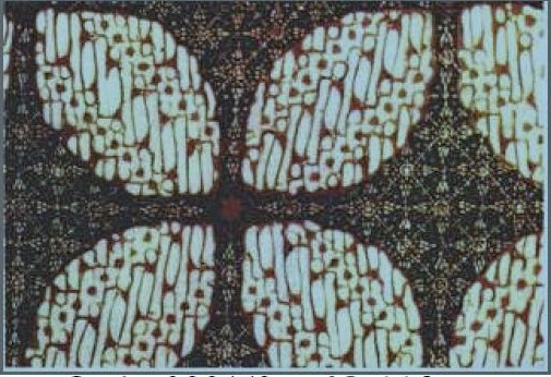 Batik Motif Ceplok Lempeng